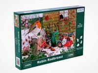 Robin Redbreast - 1000 Pieces|House of Puzzles